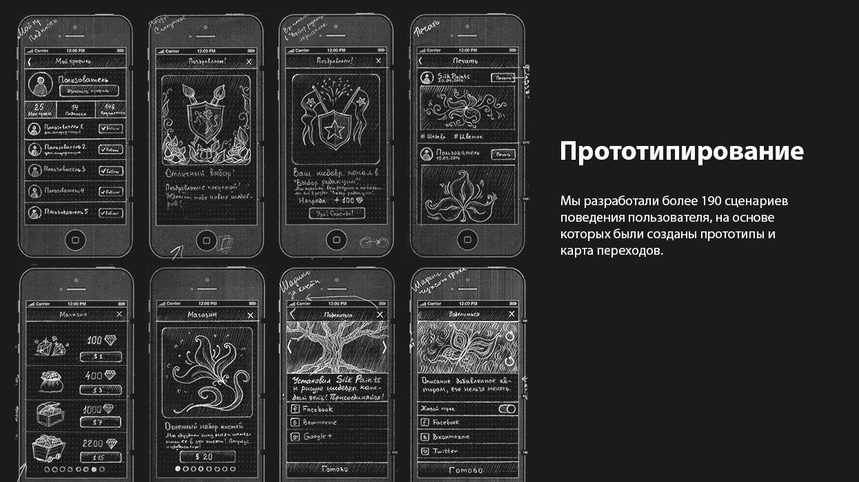 Мобильное приложение SilkPaints