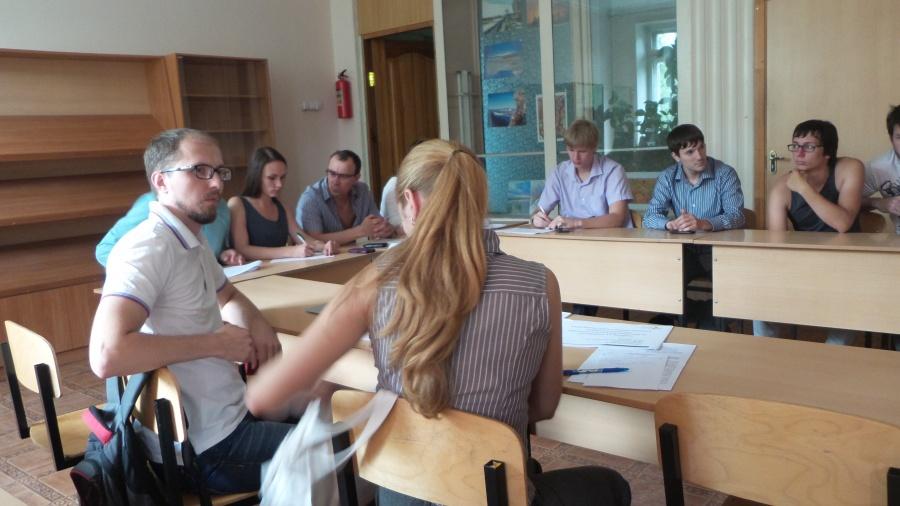 Павел Прищепа выступил с докладом об OpenScholar