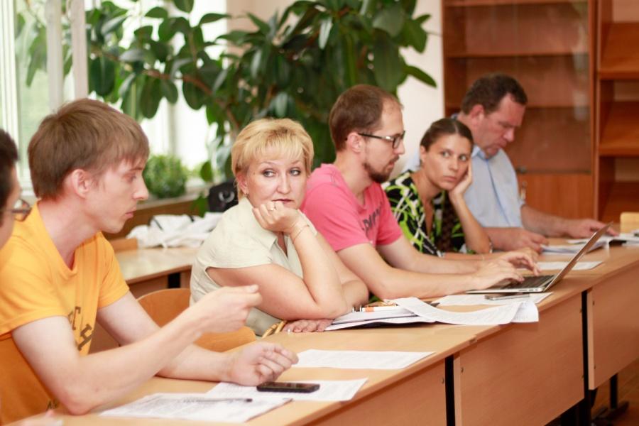 Собрание рабочей группы по поводу новых сайтов для колледжей #3