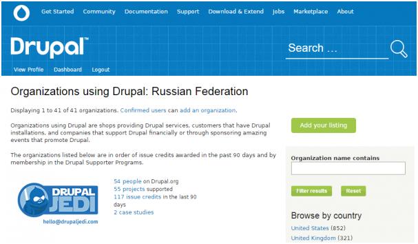 Drupal-компания #1 в России